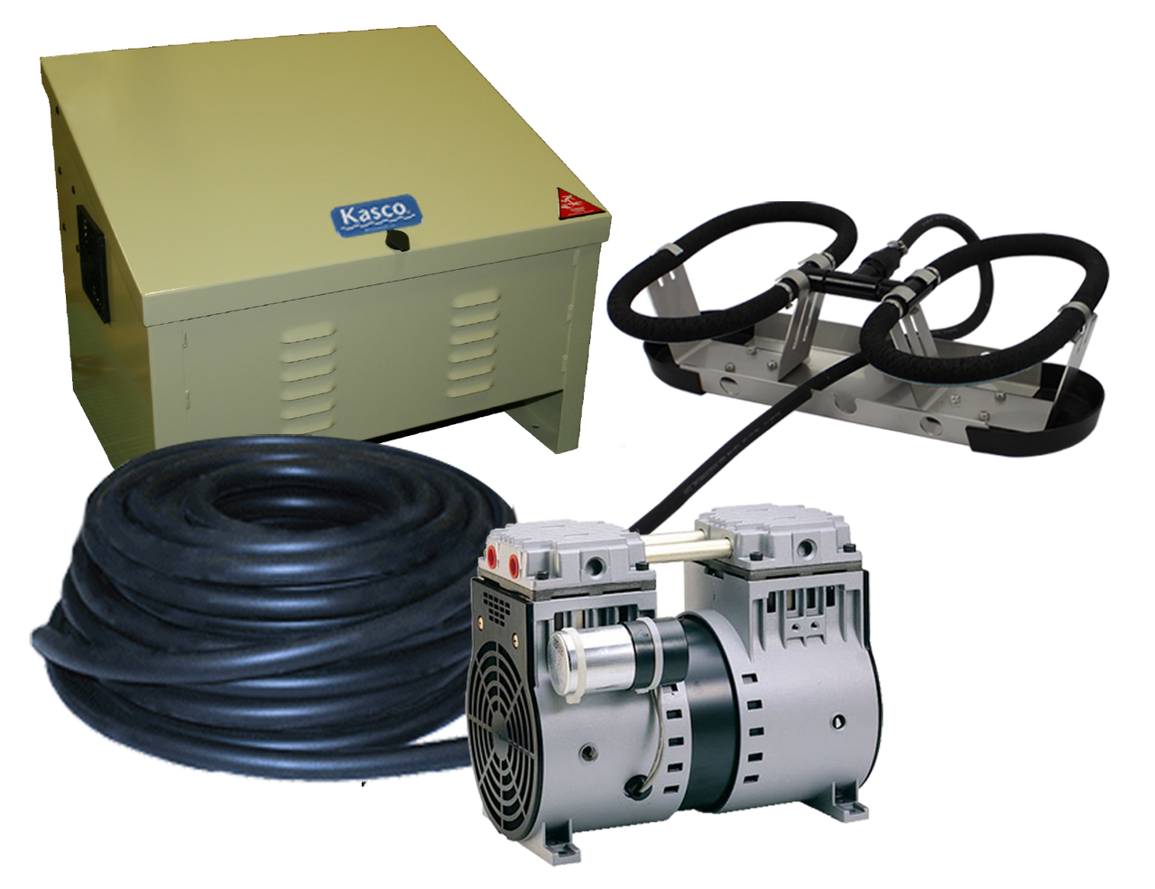 Kasco Robust Aire RA1 Pond and Lake Aeration System with  Air Compressor Cabinet