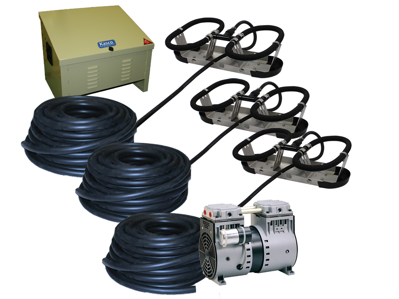 Kasco Robust Aire RA3 Pond and Lake Aeration System with  Air Compressor Cabinet