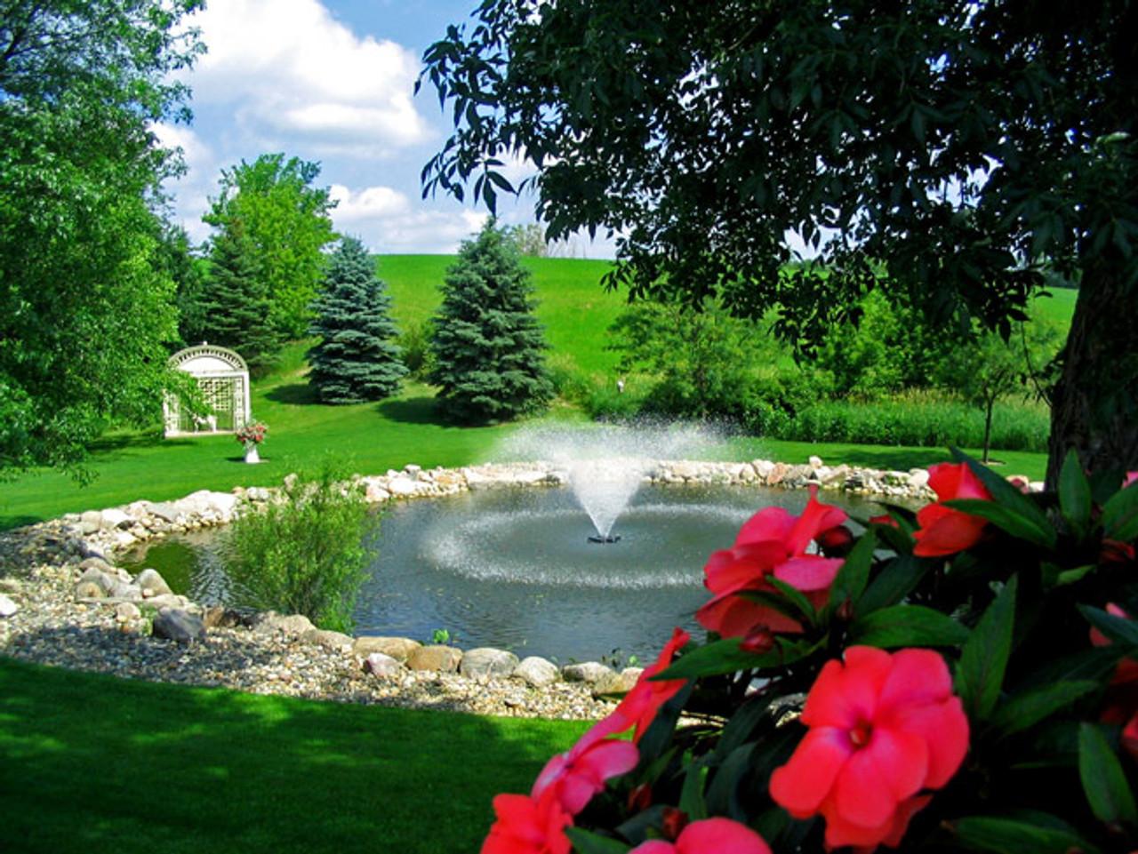 Kasco Fountain 4400VFX Backyard