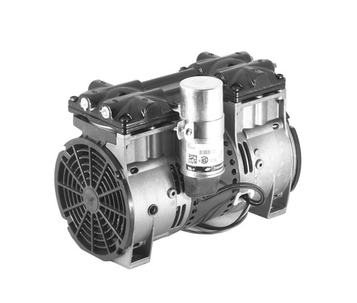 Thomas Dual Piston Air Compressor for Pond Aeration and Lake Aeration (120 and 220 Volt)