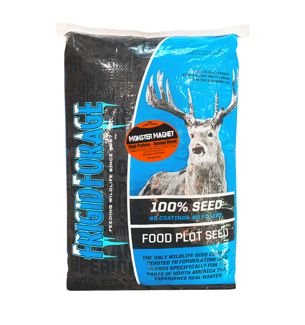 Premium Forage Chicory Perennial Deer and Wildlife Food Plot Seed 15 pounds