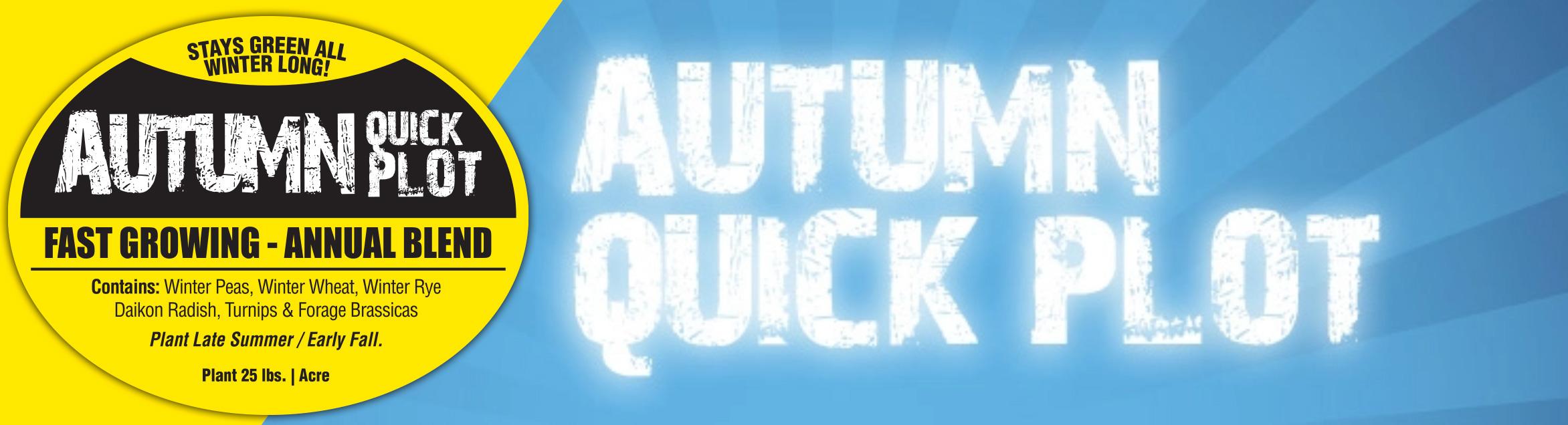 Autumn Quick Plot Food Seed