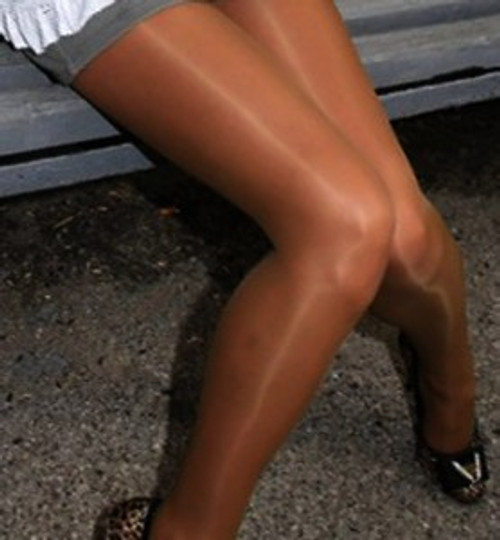 """SEVILLA"" Glossy Tights"
