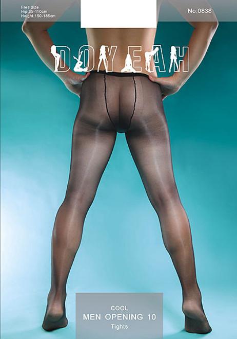 COOL TRUNK/Doyeah 10 Denier Sheer to Waist tights for Men