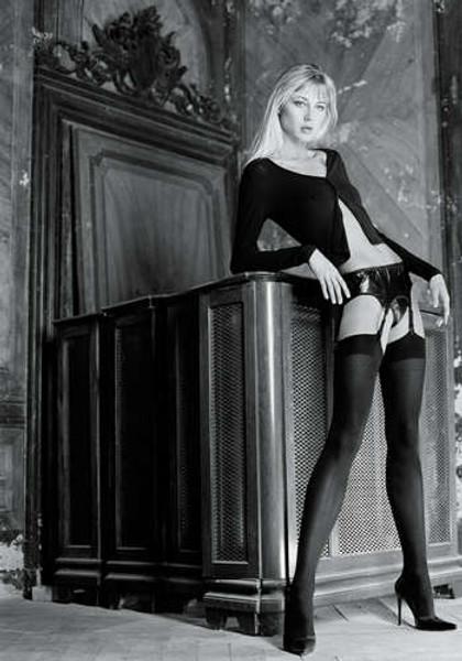 Sandra - Stockings for Garter