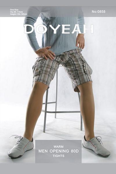 Doyeah 80 Denier Opaque tights for men -0858