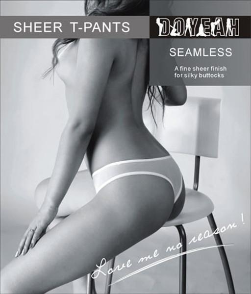 Seamless Sheer Brief T-PANTS -5237