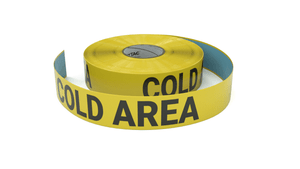 Cold Area - No Prolonged Exposure - Inline Printed Floor Marking Tape