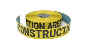 Construction Area - Inline Printed Floor Marking Tape