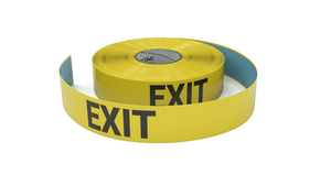 Exit - Inline Printed Floor Marking Tape