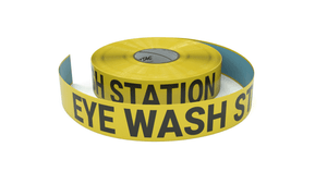 Eye Wash Station - Inline Printed Floor Marking Tape