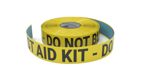 First Aid Kit - Do No Block - Inline Printed Floor Marking Tape