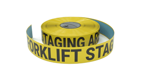 Forklift Staging Area - Inline Printed Floor Marking Tape