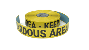 Hazardous Area - Inline Printed Floor Marking Tape