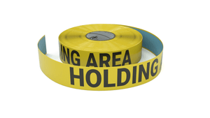 Holding Area - Inline Printed Floor Marking Tape