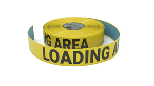 Loading Area - Inline Printed Floor Marking Tape