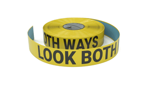 Look Both Ways - Inline Printed Floor Marking Tape