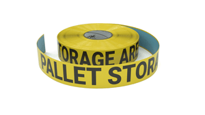Pallet Storare Area - Inline Printed Floor Marking Tape