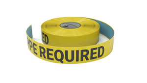 PPE Required - Inline Printed Floor Marking Tape