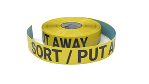 Sort / Put Away - Inline Printed Floor Marking Tape