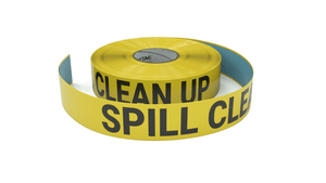 Spill Clean Up - Inline Printed Floor Marking Tape