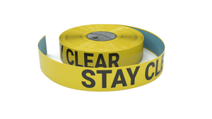 Stay Clear - Inline Printed Floor Marking Tape