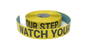 Watch Your Step - Inline Printed Floor Marking Tape