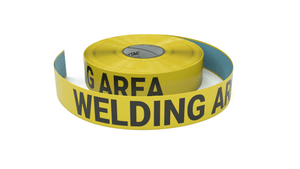 Welding Area - Inline Printed Floor Marking Tape