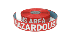 Hazardous Area - Keep Out - Inline Printed Floor Marking Tape