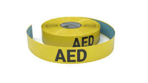AED - Inline Printed Floor Marking Tape