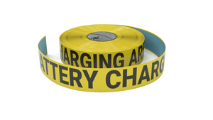 Battery Charging Area - Inline Printed Floor Marking Tape