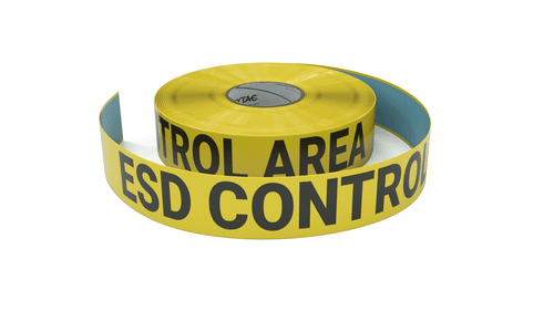 ESD Control Area - Inline Printed Floor Marking Tape