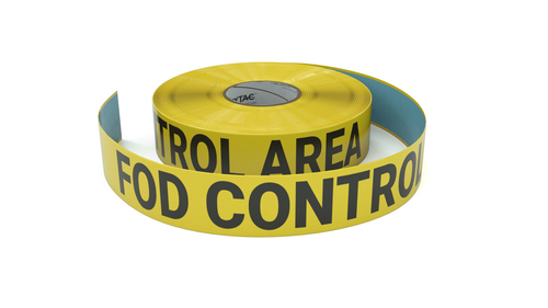 FOD Control Area  - Inline Printed Floor Marking Tape