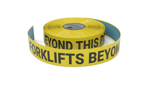 No Forklifts - Inline Printed Floor Marking Tape