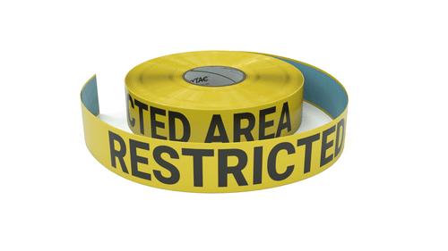 Restricted Area - Inline Printed Floor Marking Tape