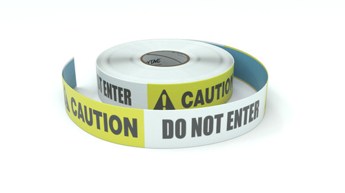 Caution: Do Not Enter - Inline Printed Floor Marking Tape