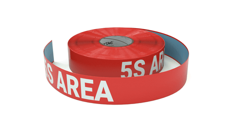 5S Area - Inline Printed Floor Marking Tape