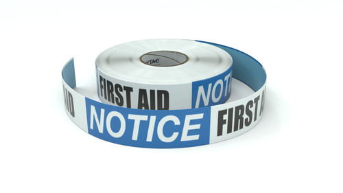 Notice: First Aid - Inline Printed Floor Marking Tape