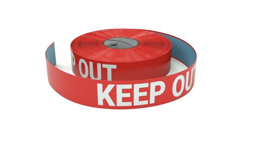 Keep Out - Inline Printed Floor Marking Tape