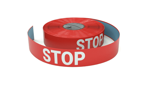 Stop - Inline Printed Floor Marking Tape