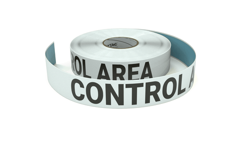 Control Area - Inline Printed Floor Marking Tape