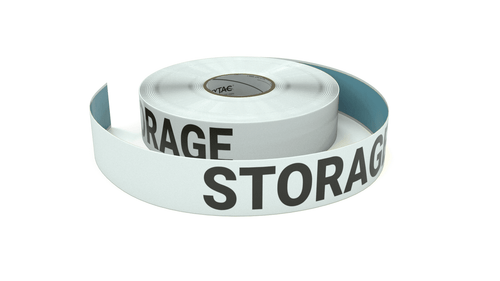 Storage Area - Inline Printed Floor Marking Tape