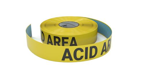 Acid Area - Inline Printed Floor Marking Tape