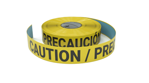 Caution - Inline Printed Floor Marking Tape