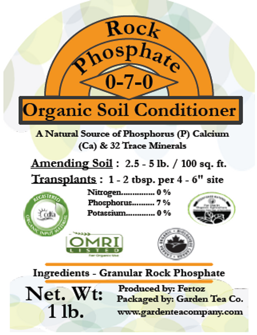 Rock Phosphate is one of the best natural sources of phosphorus (P) and calcium (Ca).