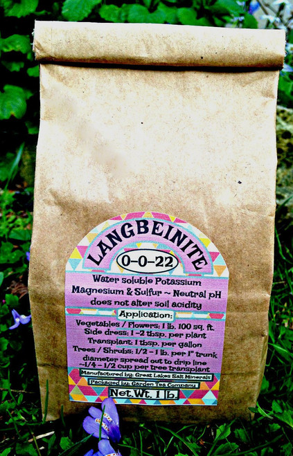 Langbeinite offers plants three essential nutrients potassium, magnesium, and sulfur