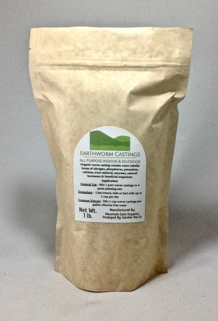 Nutrients found in Worm Castings last up to 6 times longer than the nutrients found in ordinary potting soil.
