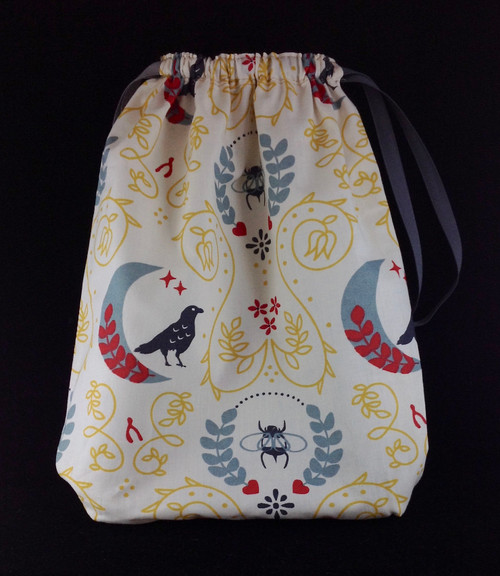 Organic Fabric Drawstring Bag