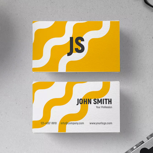 100lb Linen Business Cards