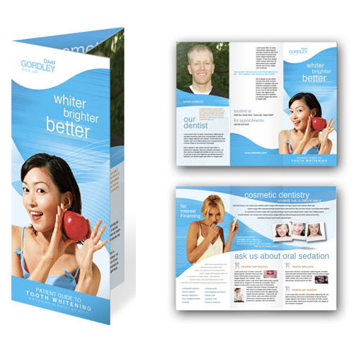 Folded Brochure, 8.5x11 brochure, bifold, trifold